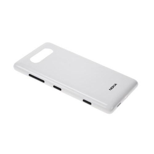 Teleplus Nokia Lumia 820 Arka Pil Batarya Kapak Beyaz