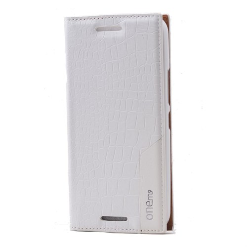 Teleplus Htc One M9 Lüx Flip Cover Kılıf Beyaz
