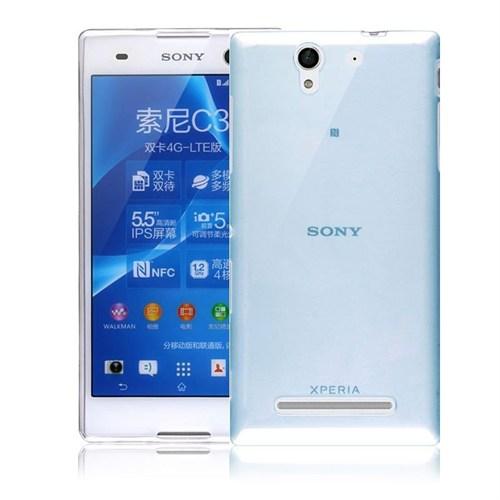 Teleplus Sony Xperia C3 Silikon Kılıf Mavi