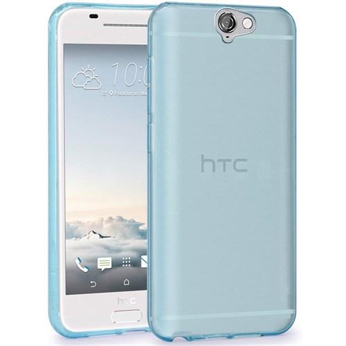 Teleplus Htc One A9 Tam Korumalı Silikon Kılıf Mavi