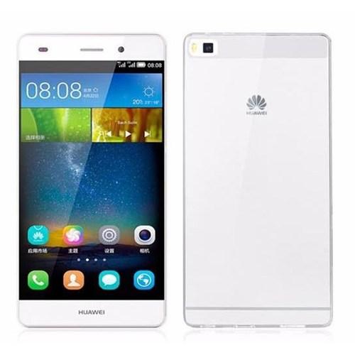 Teleplus Huawei Ascend P8 Şeffaf Silikon