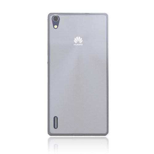 Teleplus Huawei Ascend P7 Silikon Kılıf Beyaz