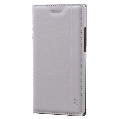 Teleplus Huawei Ascend P7 Lüx Kılıf Beyaz