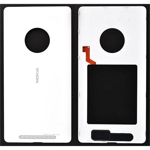 Teleplus Nokia Lumia 830 Arka Pil Batarya Kapak Beyaz