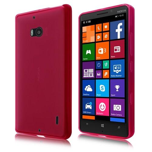 Teleplus Nokia Lumia 930 Silikon Kılıf Kırmızı