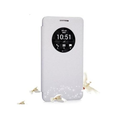 Teleplus Asus Zenfone 6 Ekol Pencereli Kılıf Beyaz