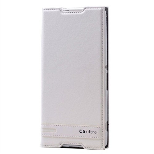 Teleplus Sony Xperia C5 Ultra Mıknatıslı Kılıf Beyaz