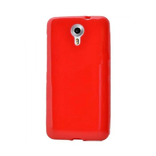Android One Tam Korumalı Silikon Kılıf Kırmızı