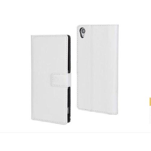 Teleplus Sony Xperia T3 Cüzdanlı Kılıf Beyaz