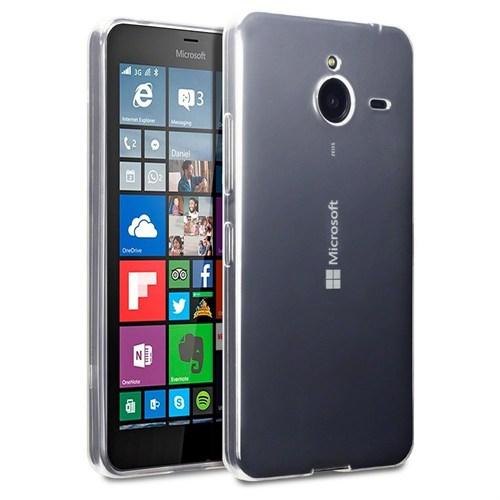 Teleplus Nokia Lumia 640 Xl Tam Korumalı Silikon Kılıf Şeffaf