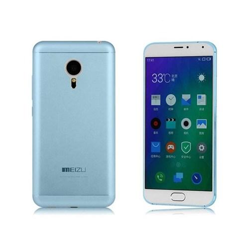 Teleplus Meizu Mx5 Tam Korumalı Silikon Kılıf Mavi