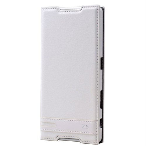 Teleplus Sony Xperia Z5 Mıknatıslı Kılıf Beyaz