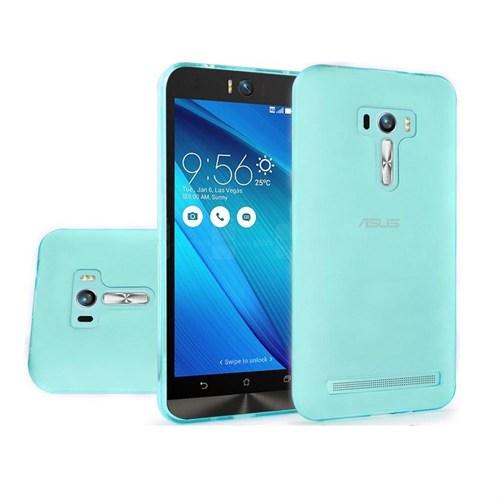 Teleplus Asus Zenfone 2 Laser 6 İnç Ze601kl Silikon Kılıf Mavi