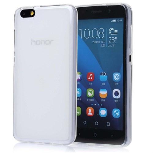 Teleplus Huawei Y5c Silikon Kılıf Şeffaf