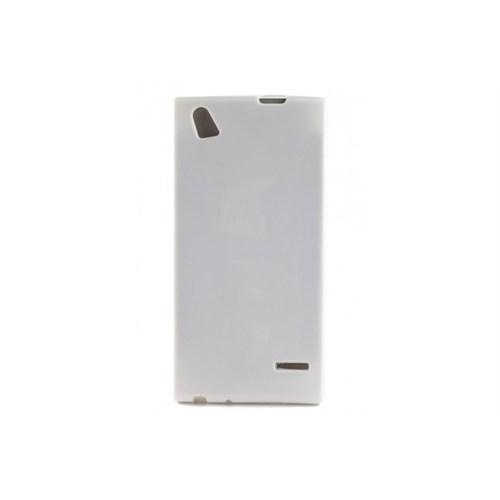 Teleplus Turkcell T50 İncecik Silikon Kılıf Beyaz