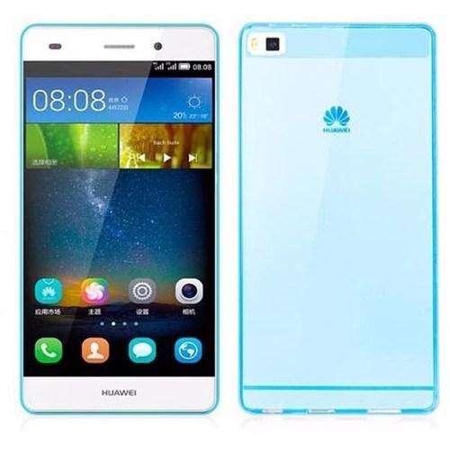 Teleplus Huawei Ascend P8 Lite Mavi Silikon