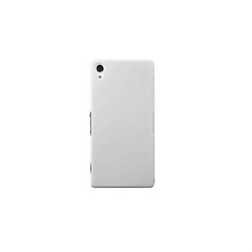 Teleplus Sony Xperia Z2 Rubber Kılıf Beyaz
