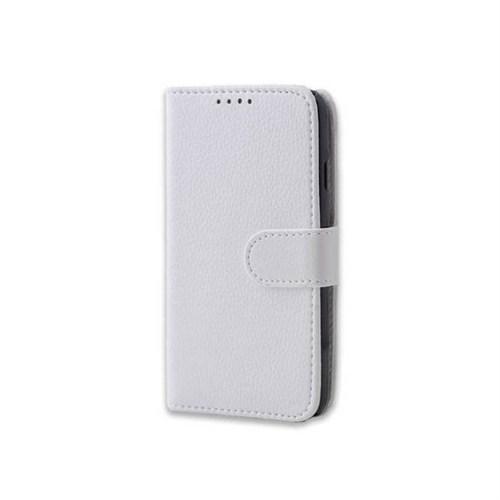 Teleplus Sony Xperia Z2 Cüzdanlı Kılıf Beyaz