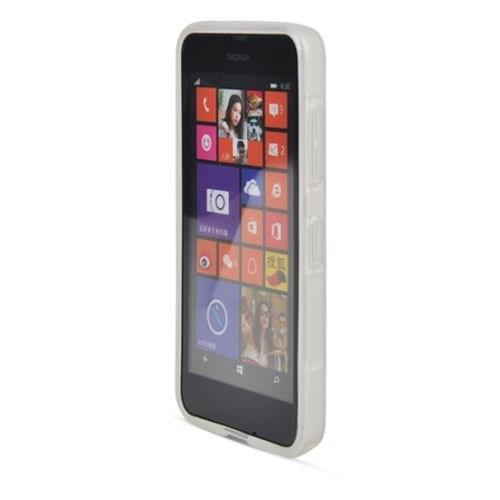 Teleplus Nokia Lumia 630 Silikon Kılıf Beyaz