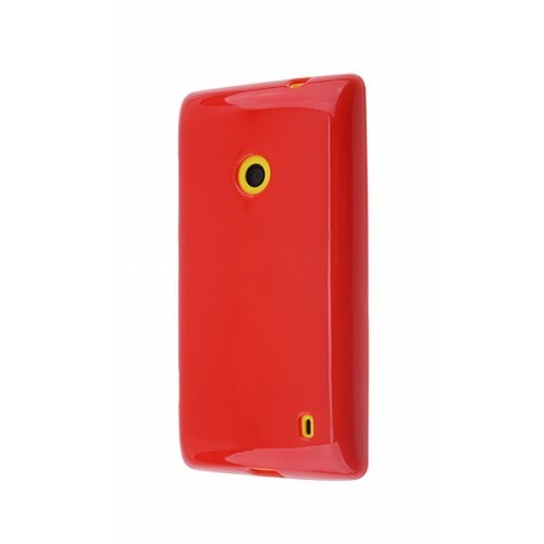 Teleplus Nokia Lumia 720 Silikon Kılıf Kırmızı