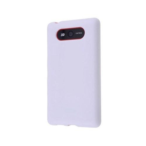 Teleplus Nokia Lumia 820 Silikon Kılıf Beyaz