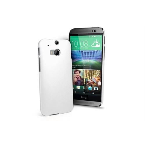 Teleplus Htc One M8 Silikon Kılıf Beyaz