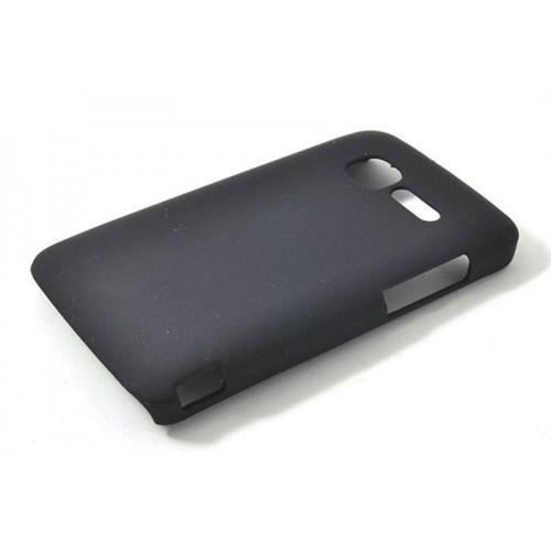 Teleplus Vodafone Smart Mini 875 Rubber Kapak Kılıf Siyah