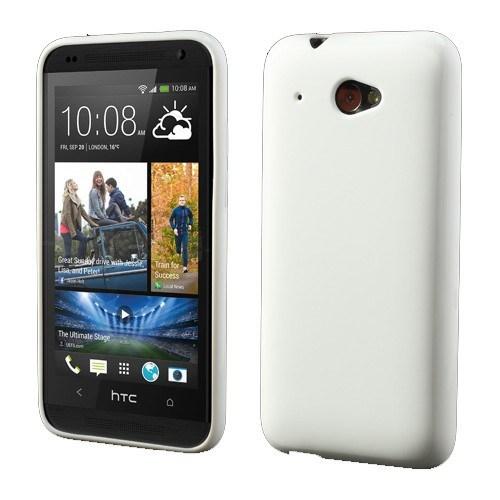 Teleplus Htc Desire 601 Silikon Kılıf Beyaz