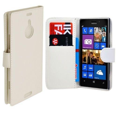 Teleplus Nokia Lumia 1520 Cüzdanlı Beyaz Kılıf