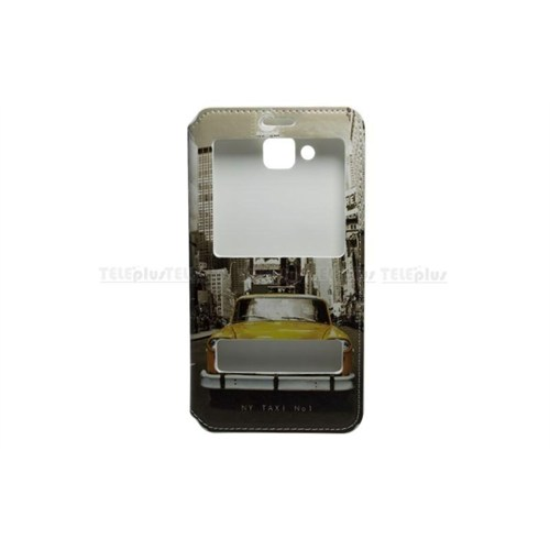 Teleplus Vestel Venus 5.5V Çift Pencereli Uyku Modlu Kılıf Taksi