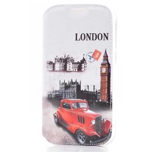 Teleplus Vodafone Smart 4 London Desenli Kılıf