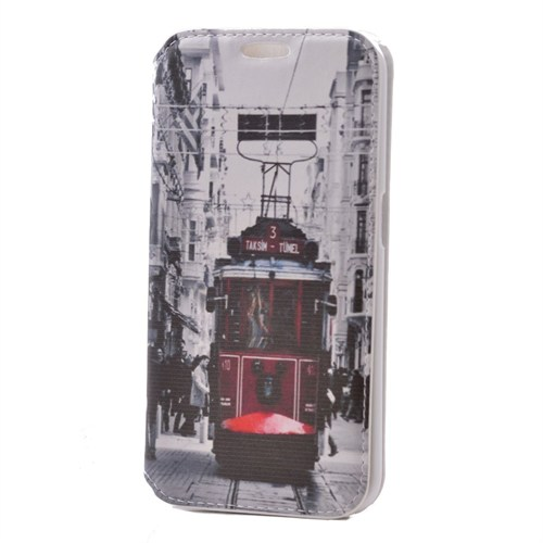 Teleplus Htc Desire 526G Desenli Kılıf Taksim