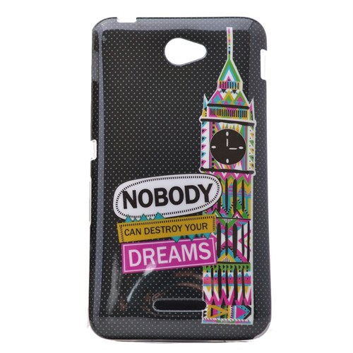 Teleplus Sony Xperia E4 Desenli Silikon Kılıf Nobody