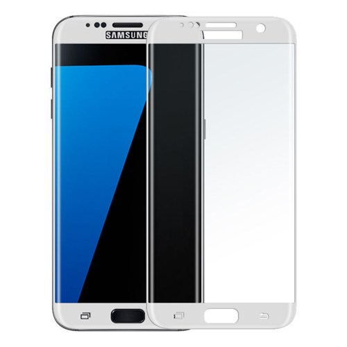 KılıfShop Samsung Galaxy S7 Edge Kavisli Kırılmaz Cam Ekran Koruyucu