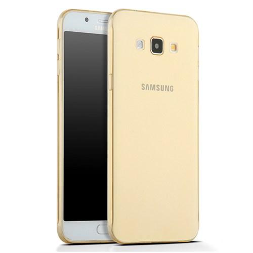 Kılıfshop Samsung Galaxy A8 0.2Mm Silikon Kılıf