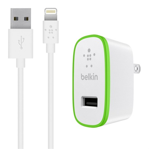 Belkin Ev Şarj Cihazı ve Lightning Data Kablosu(2.1 Amper) - BLK-110
