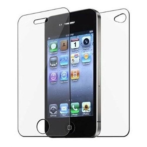 Sonmodashop Apple iPhone 4 Ön Arka Temperli Cam Kırılmaz Ekran