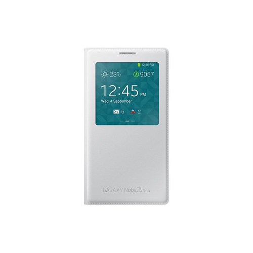 Samsung Note 3 Neo S View Cover Orjinal Kılıf