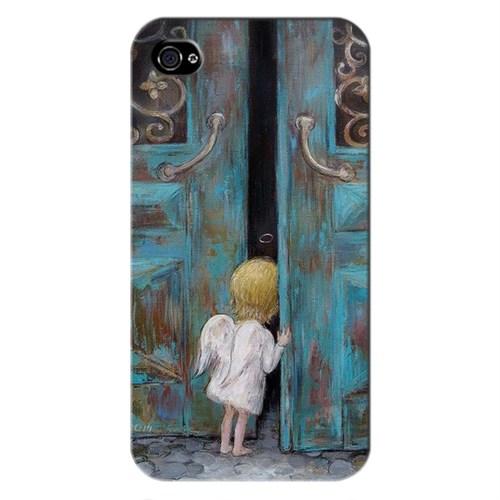 Cover&Case Apple İphone 4 / 4S Silikon Tasarım Telefon Kılıfı Ccs01-Ip01-0010
