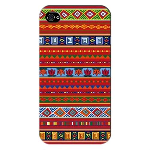 Cover&Case Apple İphone 4 / 4S Silikon Tasarım Telefon Kılıfı Ccs01-Ip01-0222