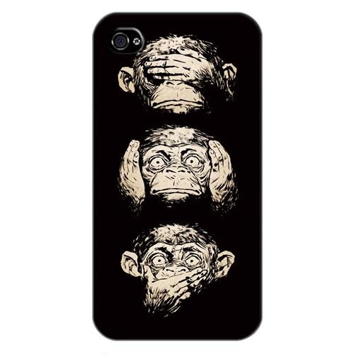 Cover&Case Apple İphone 4 / 4S Silikon Tasarım Telefon Kılıfı Ccs01-Ip01-0276