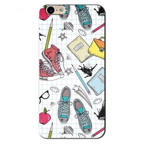 Cover&Case Apple İphone 6 / 6S Silikon Tasarım Telefon Kılıfı Ccs01-Ip03-0089
