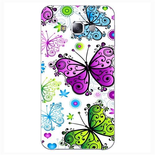 Cover&Case Samsung Galaxy E5 Silikon Tasarım Telefon Kılıfı Ccs02-E01-0224