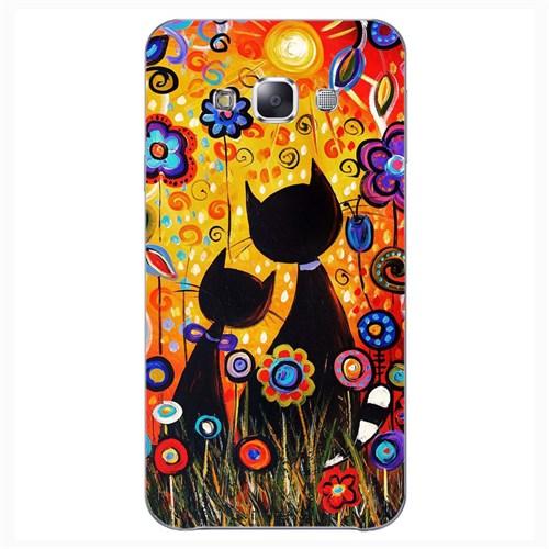 Cover&Case Samsung Galaxy E5 Silikon Tasarım Telefon Kılıfı Ccs02-E01-0236