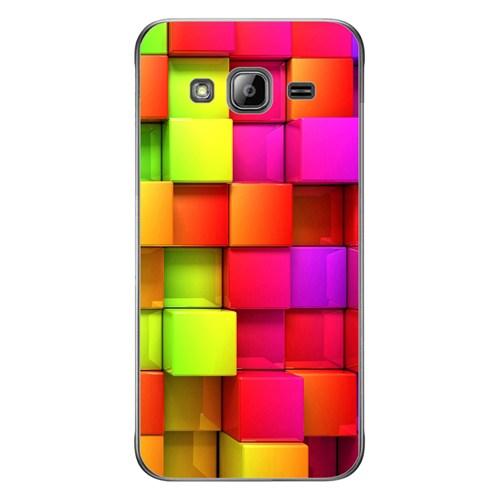 Cover&Case Samsung Galaxy J3 Silikon Tasarım Telefon Kılıfı Ccs02-J03-0220