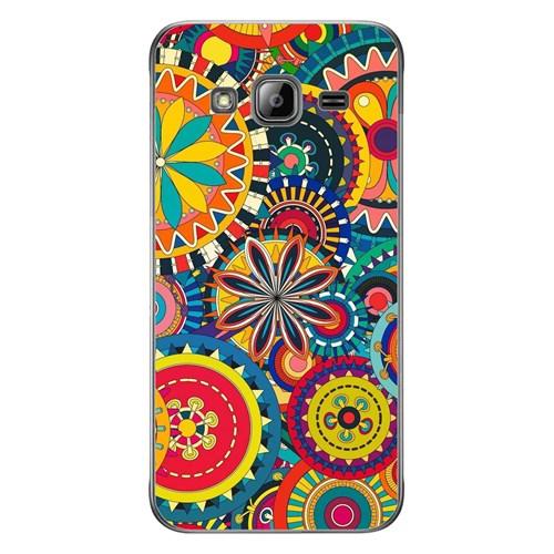 Cover&Case Samsung Galaxy J3 Silikon Tasarım Telefon Kılıfı Ccs02-J03-0241