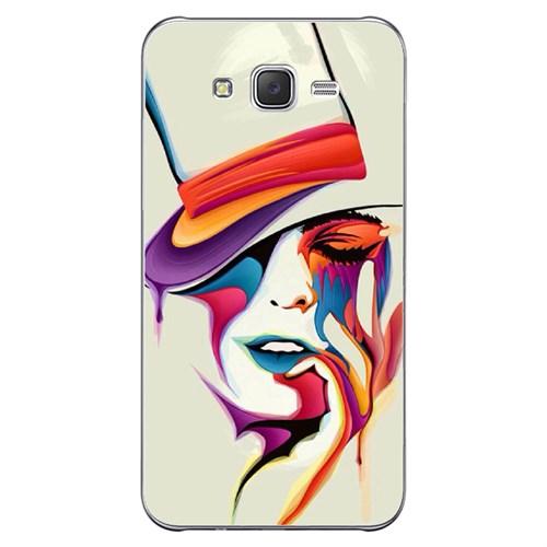 Cover&Case Samsung Galaxy J7 Silikon Tasarım Telefon Kılıfı Ccs02-J05-0226