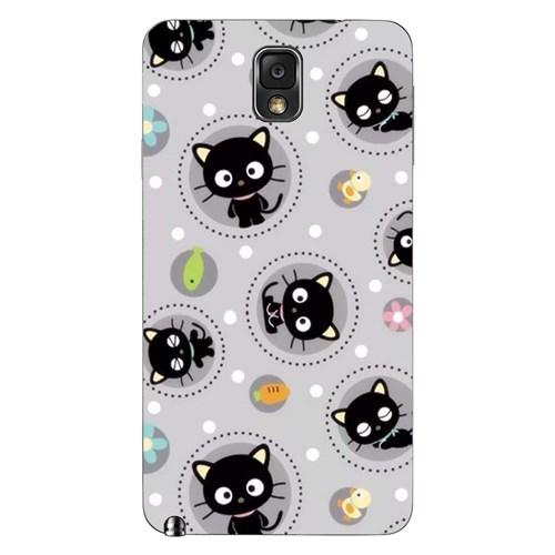 Cover&Case Samsung Galaxy Note 3 Silikon Tasarım Telefon Kılıfı Ccs02-N02-0049