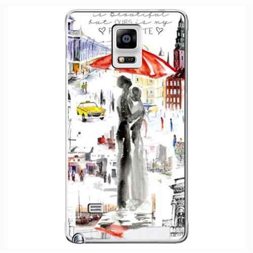 Cover&Case Samsung Galaxy Note 4 Silikon Tasarım Telefon Kılıfı Ccs02-N03-0142