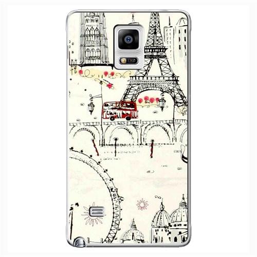 Cover&Case Samsung Galaxy Note 4 Silikon Tasarım Telefon Kılıfı Ccs02-N03-0146